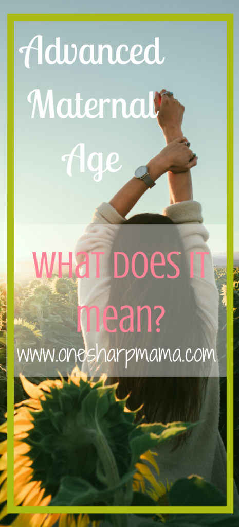 What does advanced maternal age mean and how does it impact your fertility? #ttc trying to conceive and watching your biological time clock tick away?? Find out how this impacts your fertility #tryingtoconceive #infertility