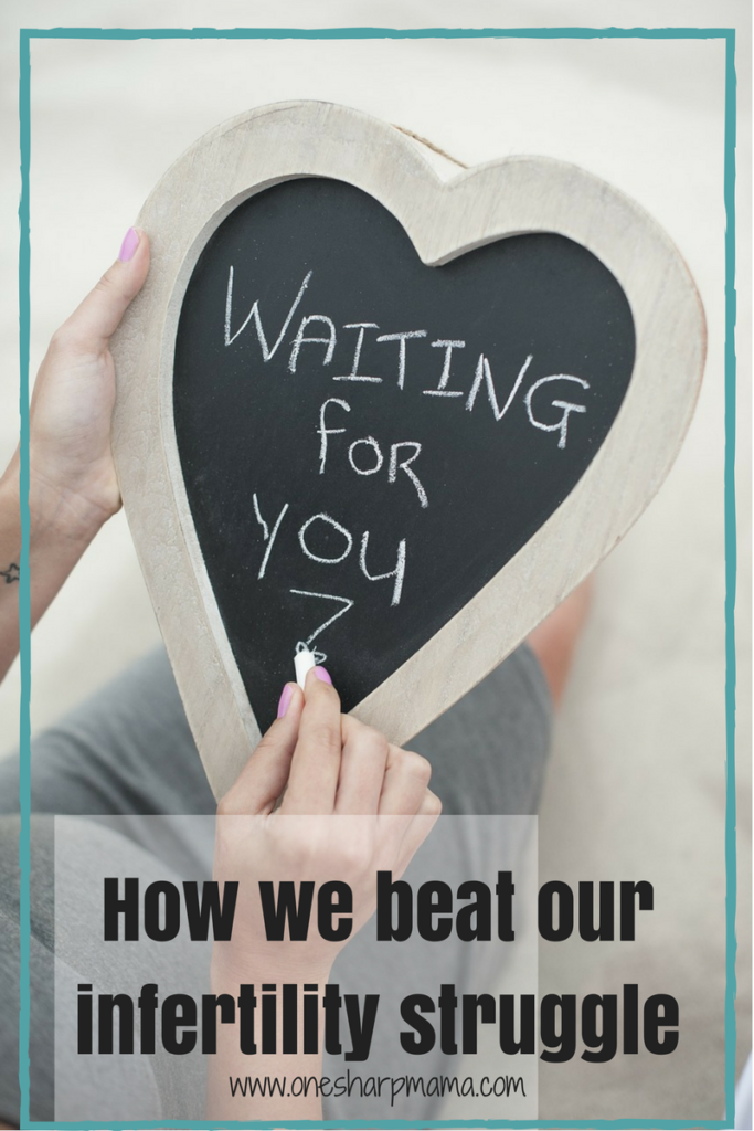If you're looking for a success story from a woman dealing with Infertility, we have it! This is how we beat infertility