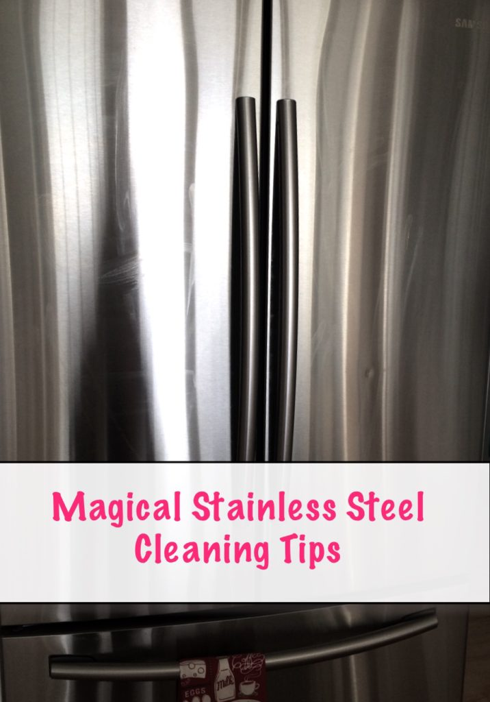 stainless steel refrigerator cleaning tips