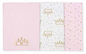 looking for the perfect baby girl baby shower gift? The new mom in your life will love these burp cloths for her newborn gift