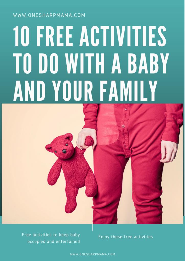 Family activities, free, baby ideas