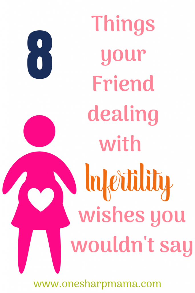 Do you have a friend who is dealing with #infertility? Are you trying to find the way to best comfort and help your friend out. Don't make these mistakes when you think you're just trying to be nice. Help support your friend in a way that is actually helpful. #infertilityawareness Put yourself in her shoes. Try these conversation tips and avoid the no-no's #fertilityjourney #fertility #infertility #tryingtoconceive #ttc #ttctips