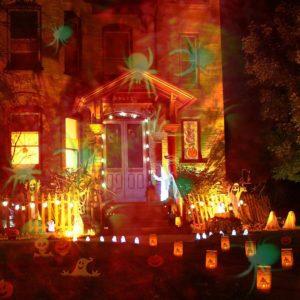 LED Outdoor holiday lighting, Amazon Halloween Decor, Halloween decorations, outdoor halloween decor, outdoor decorations, halloween LED lights, Halloween lights