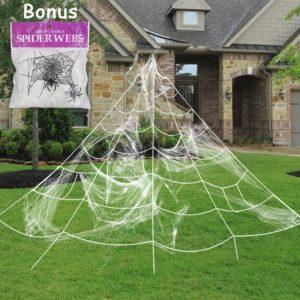 spider web halloween decoration, halloween spider web, halloween outdoor spider web
