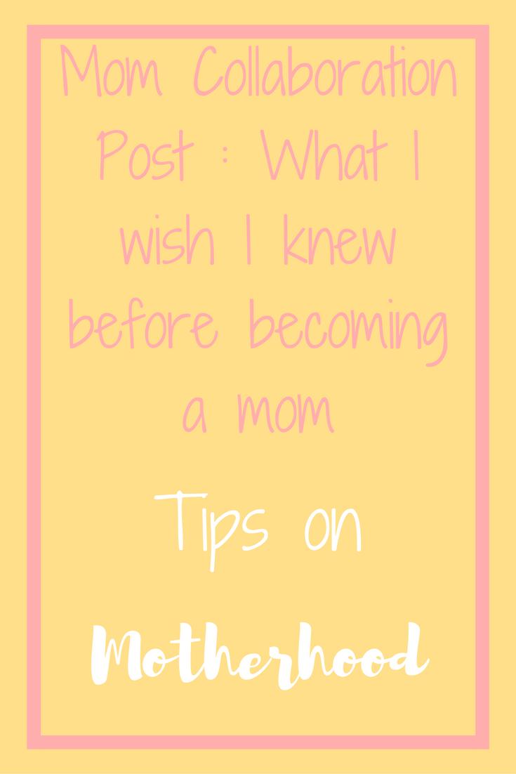 Motherhood collaboration truths