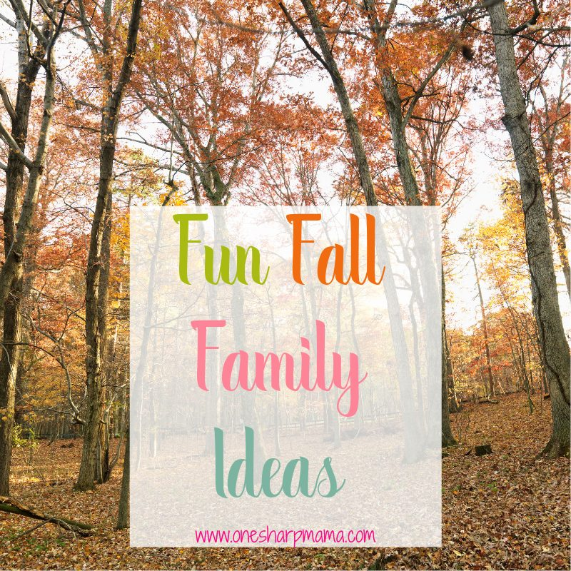 Fall is finally here! Time to have fun as a family. Try these fun fall family themed adventures and ideas. #fallfun #funfamily #familyfun #falltime
