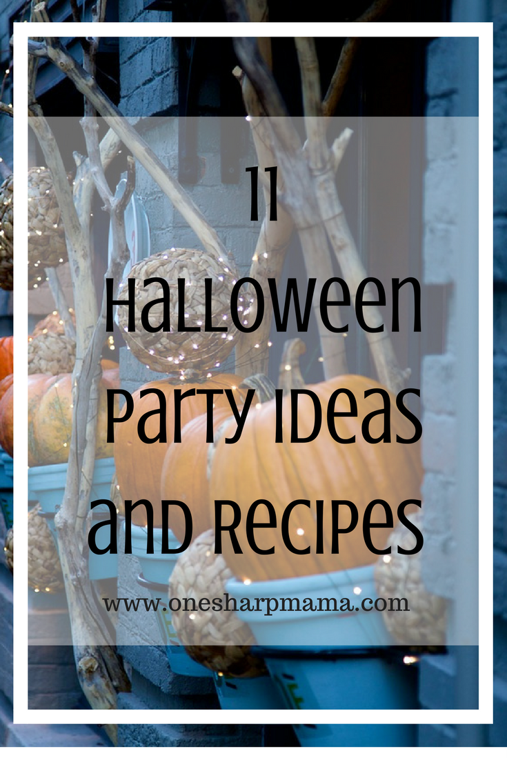 here is the best round up of halloween party ideas and recipes. These halloween crafts, recipes, crock pot recipes and Halloween treats and desserts will be the best you can find. We have a couple allergy friendly Halloween recipes too
