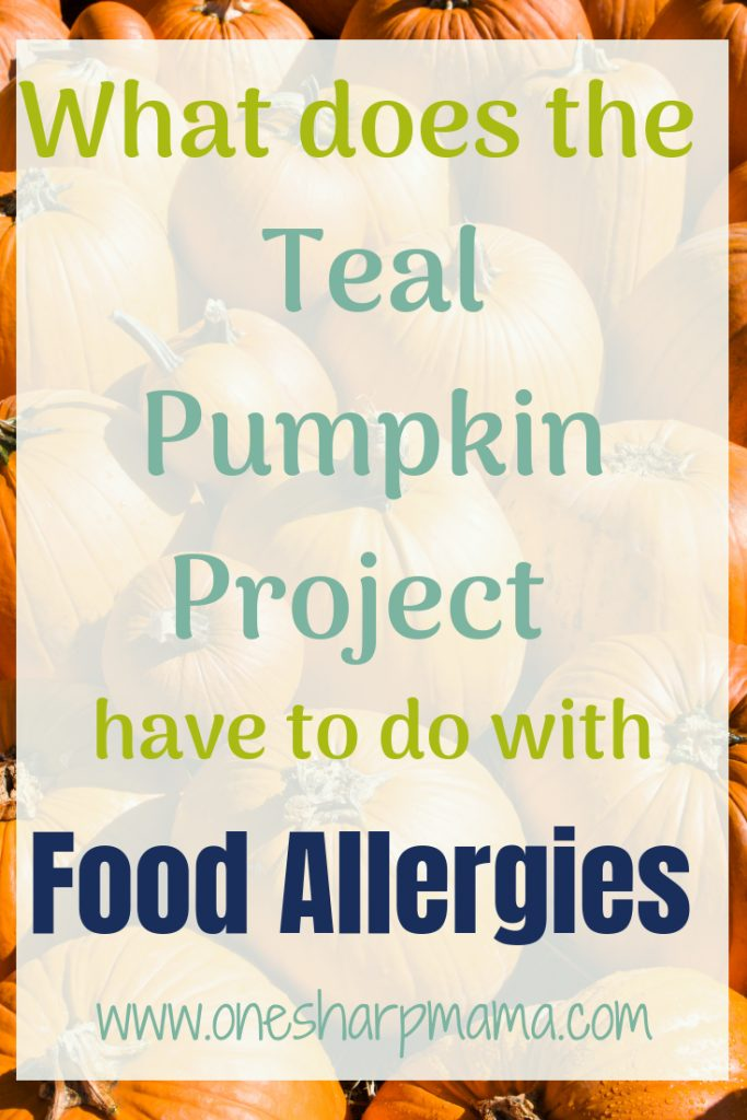 What does the teal pumpkin project have to do with food allergies? It is helping raise awareness for #foodallergies and giving kids the options to go trick or treating and not worry about their allergies to certain types of foods. #bringawareness #foodallergies #allergyawareness #halloween #trickortreating #fallfun #familyhalloween