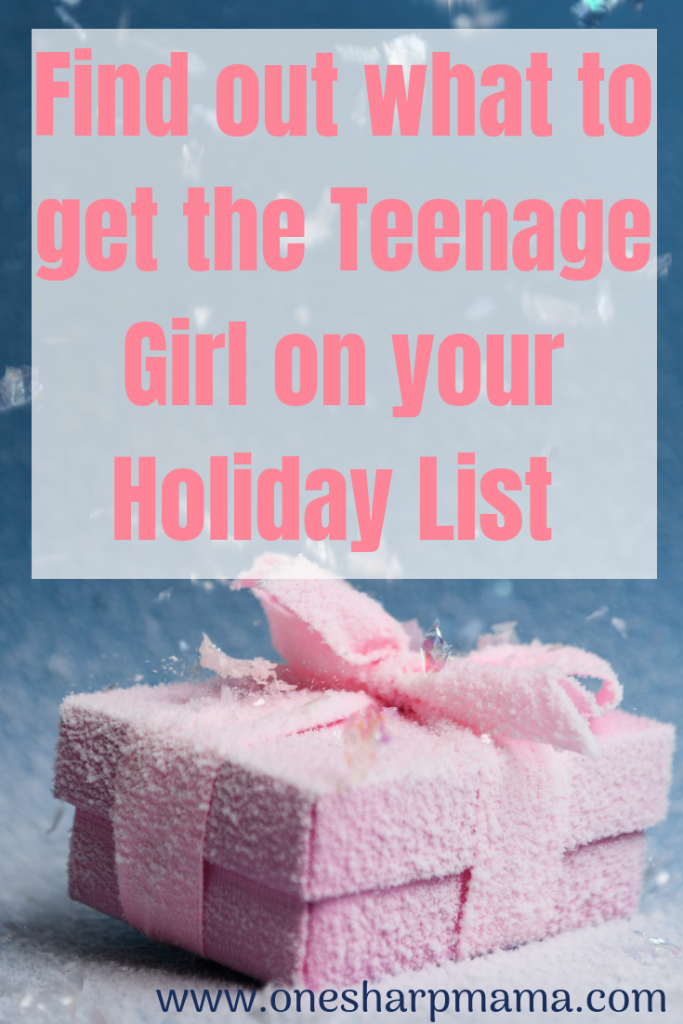 If you're looking for christmas gift ideas for a teenage girl, you're in luck .I've put together a list of gift ideas for preteen females and teenage girls for you. #present ideas #christmas #giftforher #giftforteenager