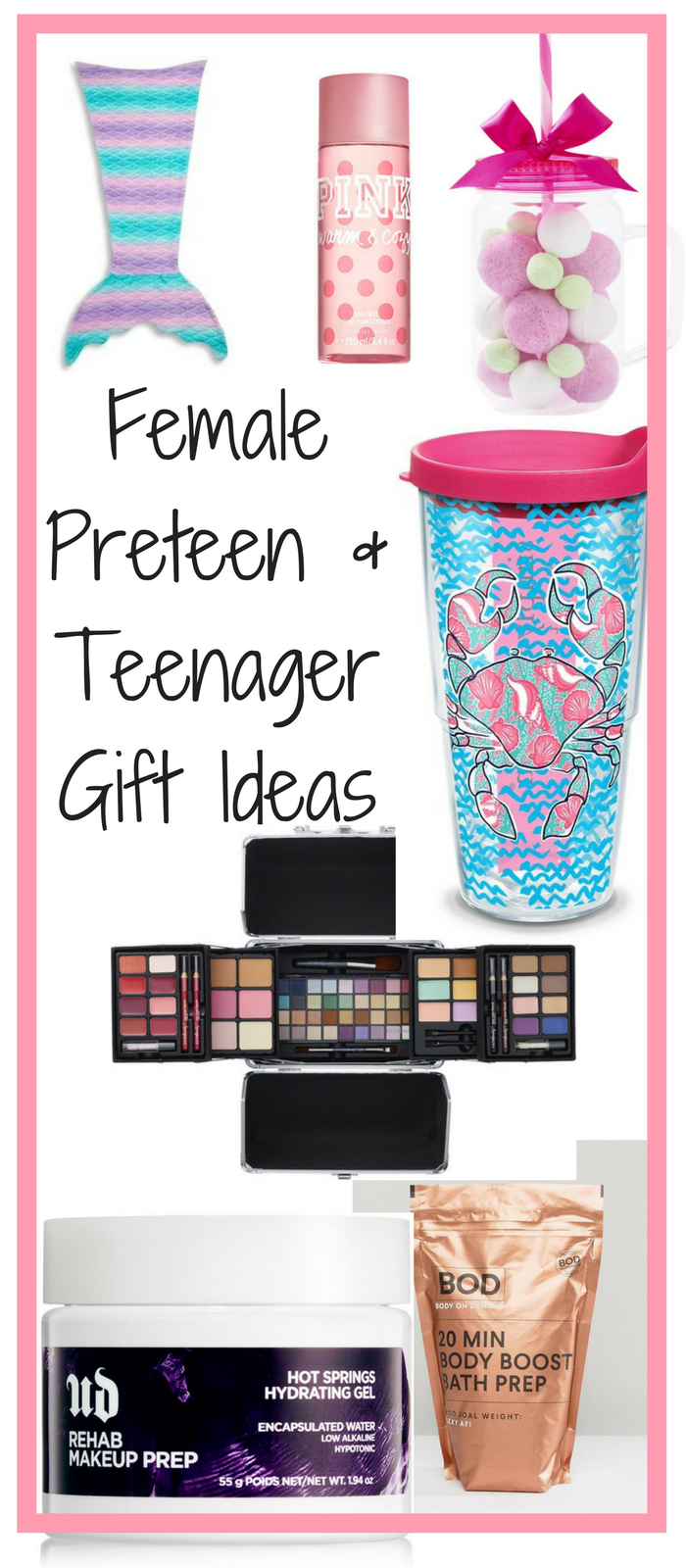 Do you need to find a holiday gift for the teenager in your life? We have the perfect list of Christmas gifts and holiday gifts for any female teenagers that you have on your list. Don't look any further we have a Christmas Gift Round up for you! The holiday gift guides can be found at One Sharp Mama