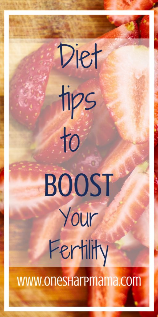#fertilitydiet tips on the foods that can help #boost your fertility. Having #infertility troubles? find out if some of the foods in your diet could be hurting your fertility. Find out what foods are helpful for conceiving and which foods make for a bad conceiving environment. #ttc #fertilityprobs