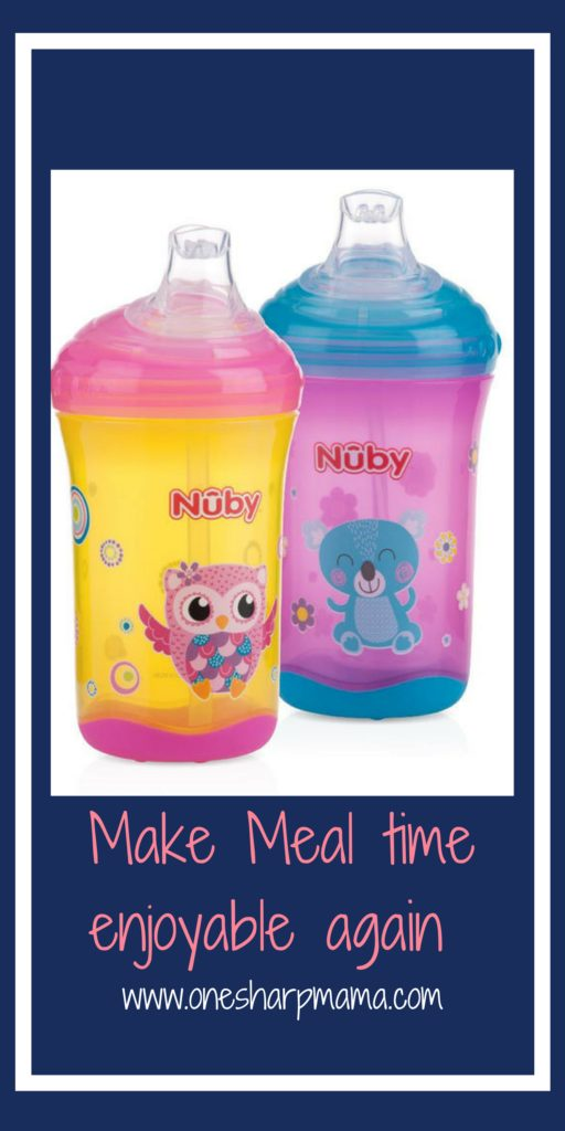 #sponsored This is the only sippy cup our daughter will use! We are sharing why we love the Nuby Sippy cup and so does our toddler. They truly are no spill cups. They make meal time fun and functional again