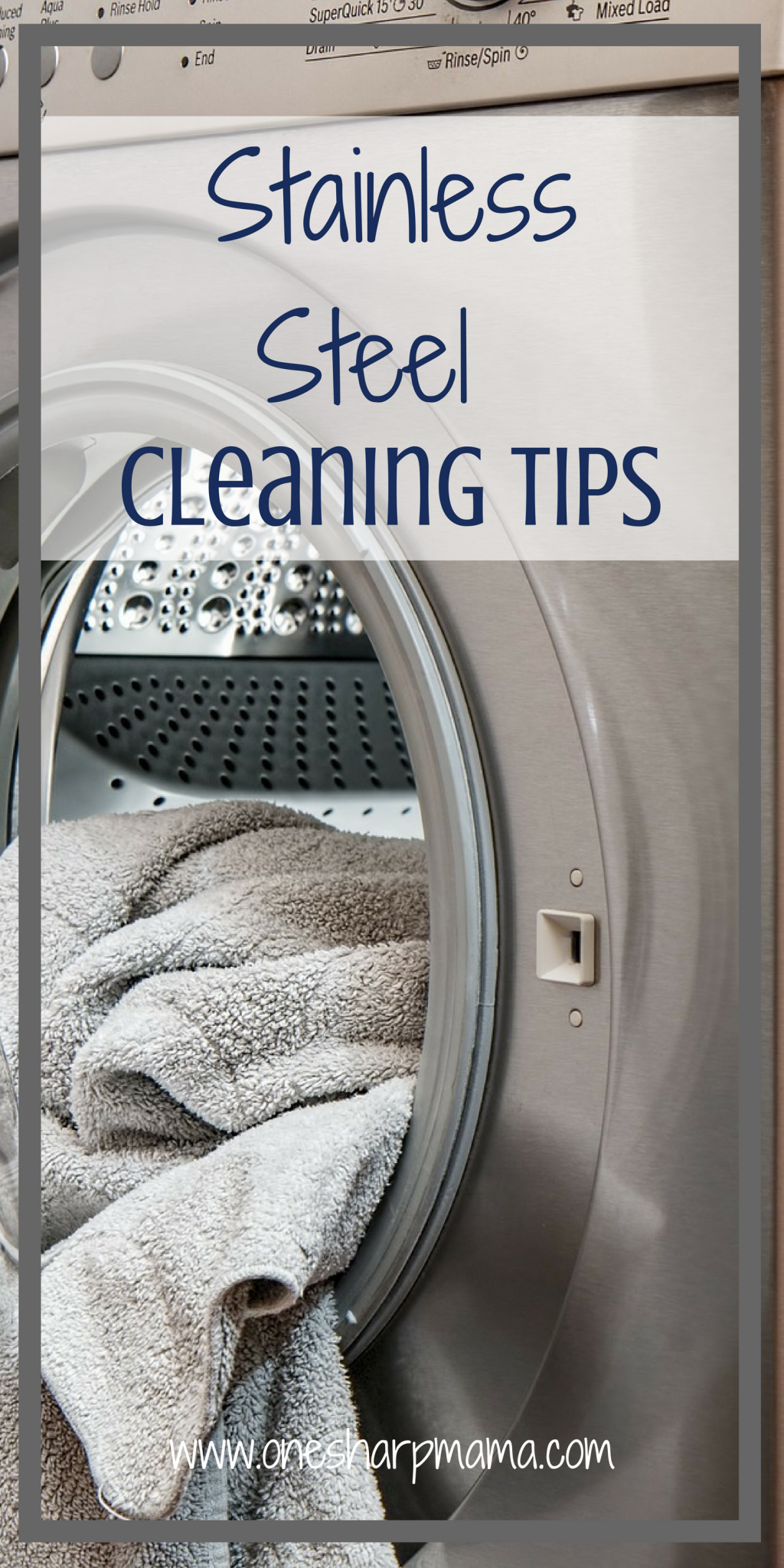 Stainless Steel Appliance Cleaning Trick