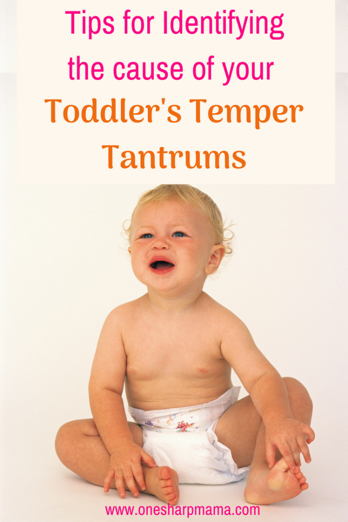 Tips for identifying the cause of your toddlers tantrums. Here you can find out the cause of why your little one is having temper tantrums and how to effectively handle them! #tempertantrums #terribletwos #threenager #toddlerlife #toddlertempers