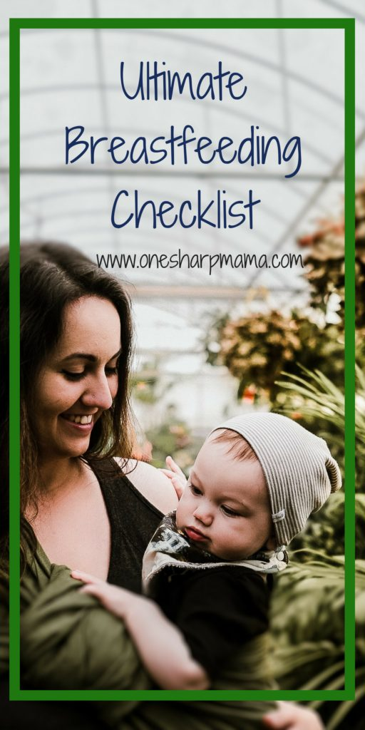 The Ultimate #breastfeeding Checklist. #breastisbest #breastfeeding #breastfeeingtips Are you a #newmom looking for tips for breastfeeding? Now is the time to get your #checklist together for what you need for a successful breastfeeding journey. #new mom tip #momlife #parentinghack #parentingtips