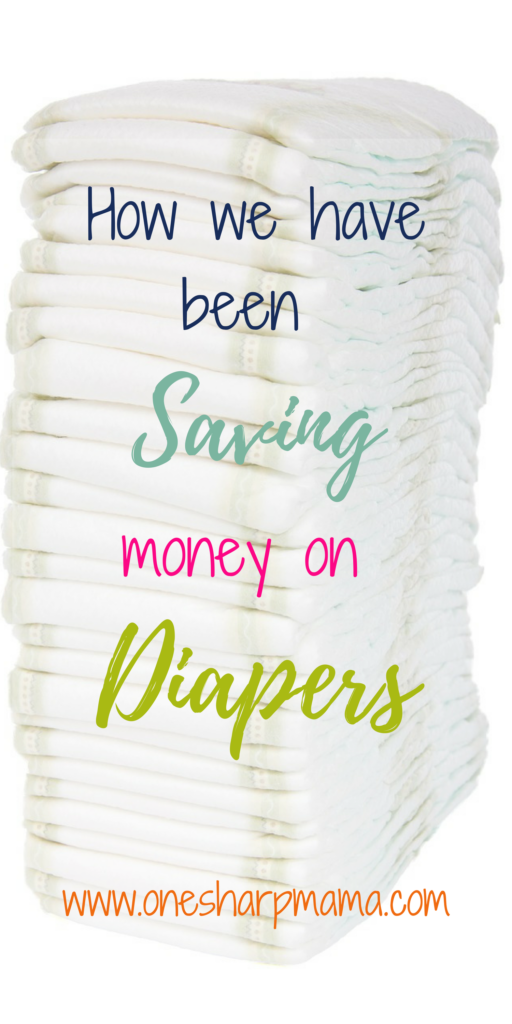 Find out 8 different ways to save money on diapers. Disposable diapers are pricey, you can find ways to cut back the costs. Parenting is expensive. Save the money! #budgeting #diaper #nappie #diaperstockpile