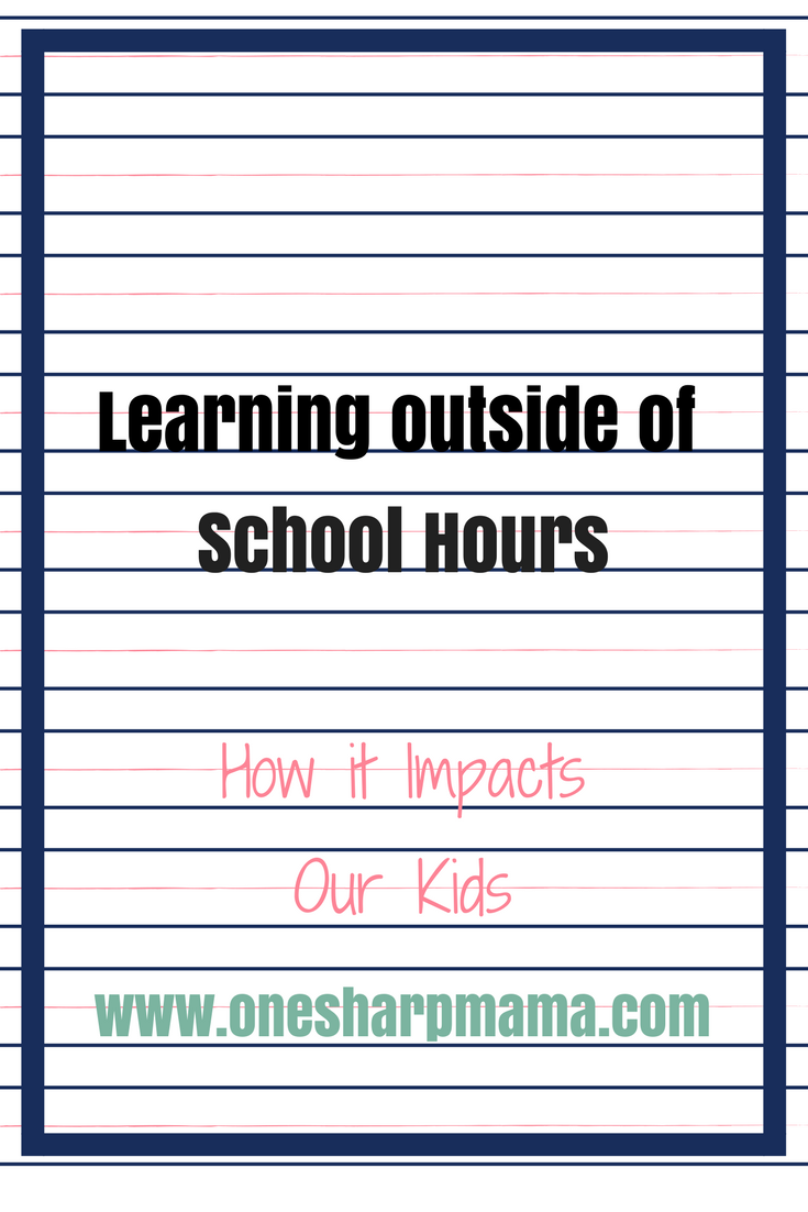 How Activities Outside School Hours Impact Children's Ability to Learn