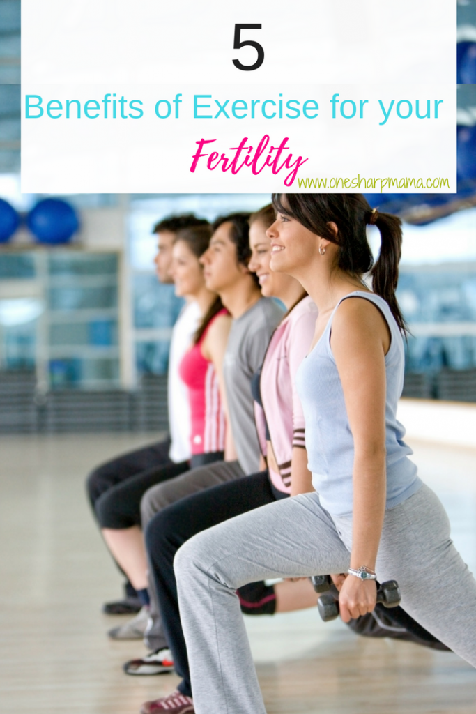 Benefits of exercise and your fertility. Looking for ways to improve your fertility? Check out why you need to exercise when trying to conceive. #ttc tips #ttctips