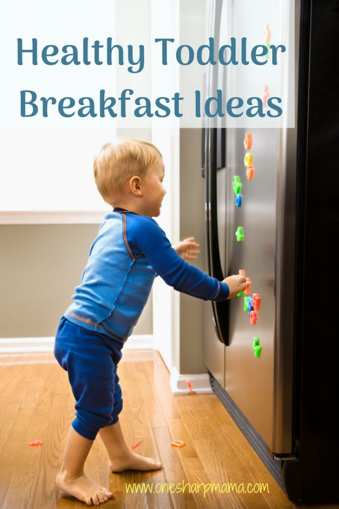 Nutritious, healthy breakfast idea for toddlers. Toddler breakfast idea loved and approved by our toddler. Get the coupon! #ad #thisishappy #happybellies @happyfamily @happysuperfoods