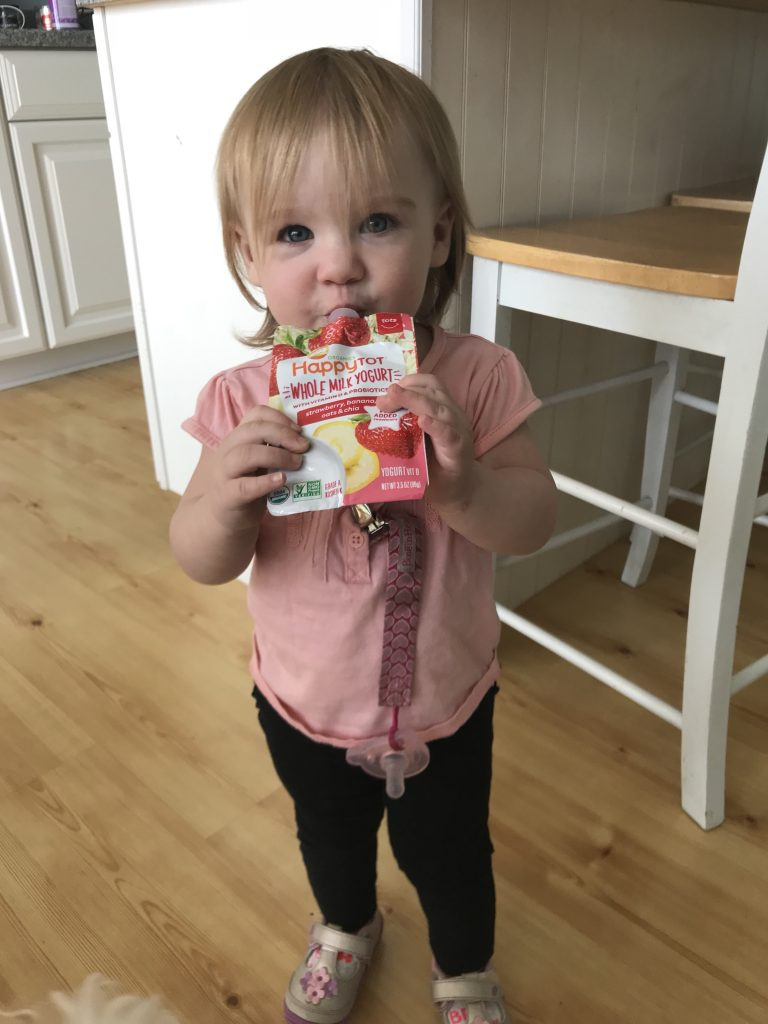 How HappyTot yogurt keeps our toddler happy and on the go
