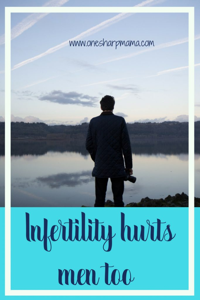 #infertility impacts men too. they can have psychological stress from dealing with infertility and the trouble trying to conceive as well