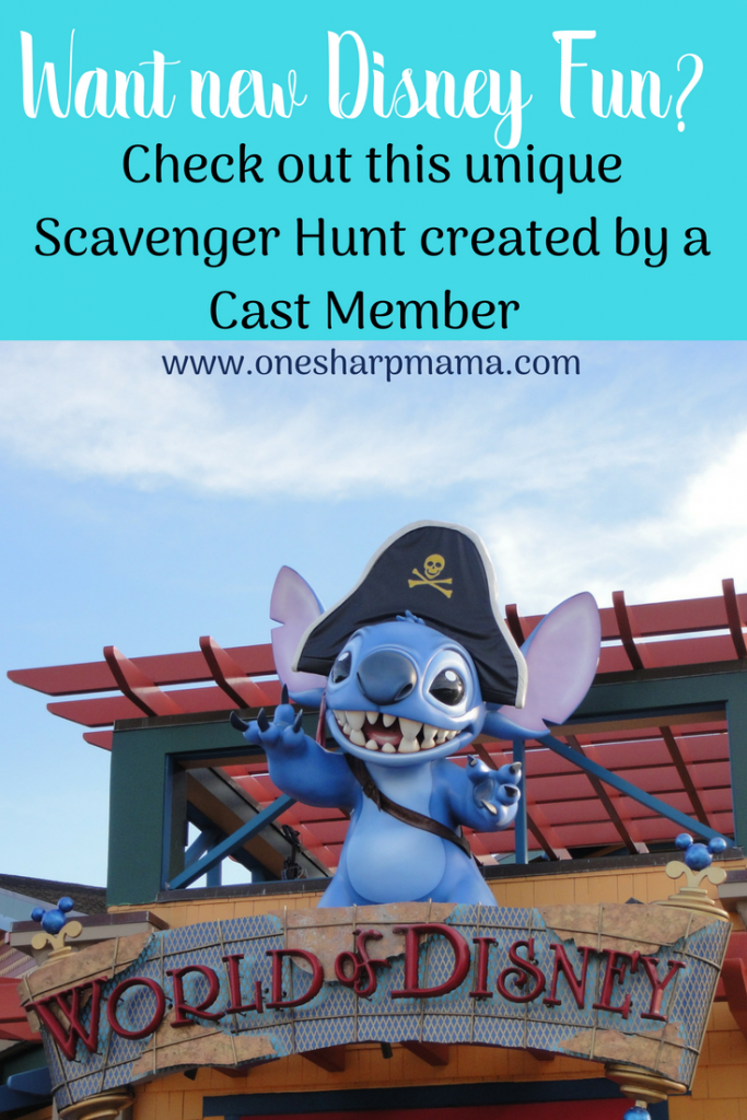 Want a new way to have fun at Walt Disney World? Looking for Hidden Mickeys can get boring, check out this amazing Scavenger Hunt created by a previous cast member! Now is the time to get a unique and different look on Disneyland and DisneyWorld. #disneyfamily #disneyworld #disneyland #familytrip 3familyfun