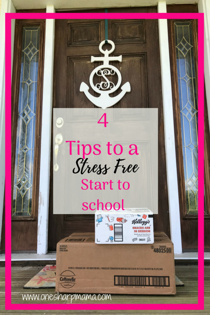 #sponsored 4 tips to a stress free start to the school year. #shopbacktoschool tips @kleenex @viva @cottonelle Back to school 2018