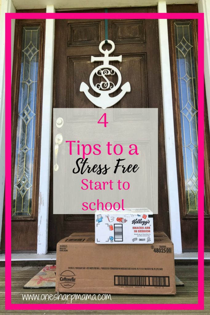 4 Back to School Tips for a Stress Free Start