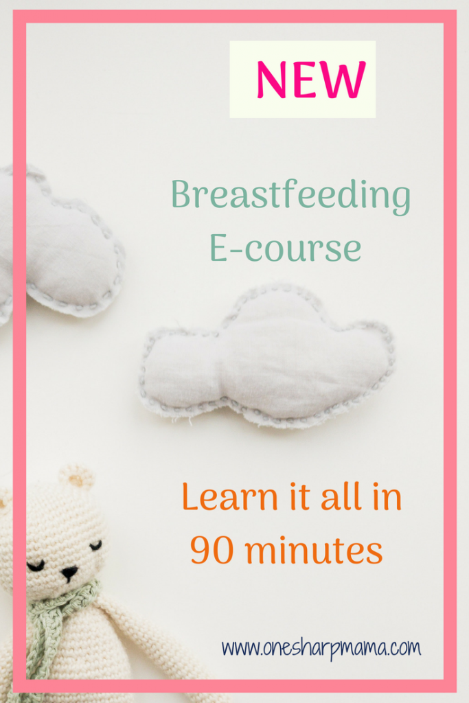 Learn how to #breastfeed in this 90 minute ecourse. Breastfeeding can be scary, but, it doesn't have to be hard. Learn the breastfeeding basics, breastfeeding positions and how to keep your breastmilk supply up! #breastfeedingcourse #newmom #parenting #lactationhelp