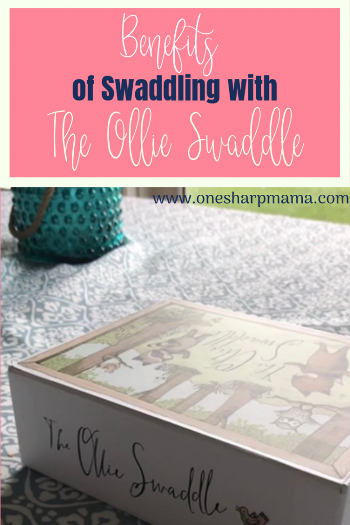 Learn all the benefits of swaddling your newborn. Using the Ollie Swaddle makes swaddling your baby a breeze. #sponsored @theollieworld @ollieworld #newborntips
