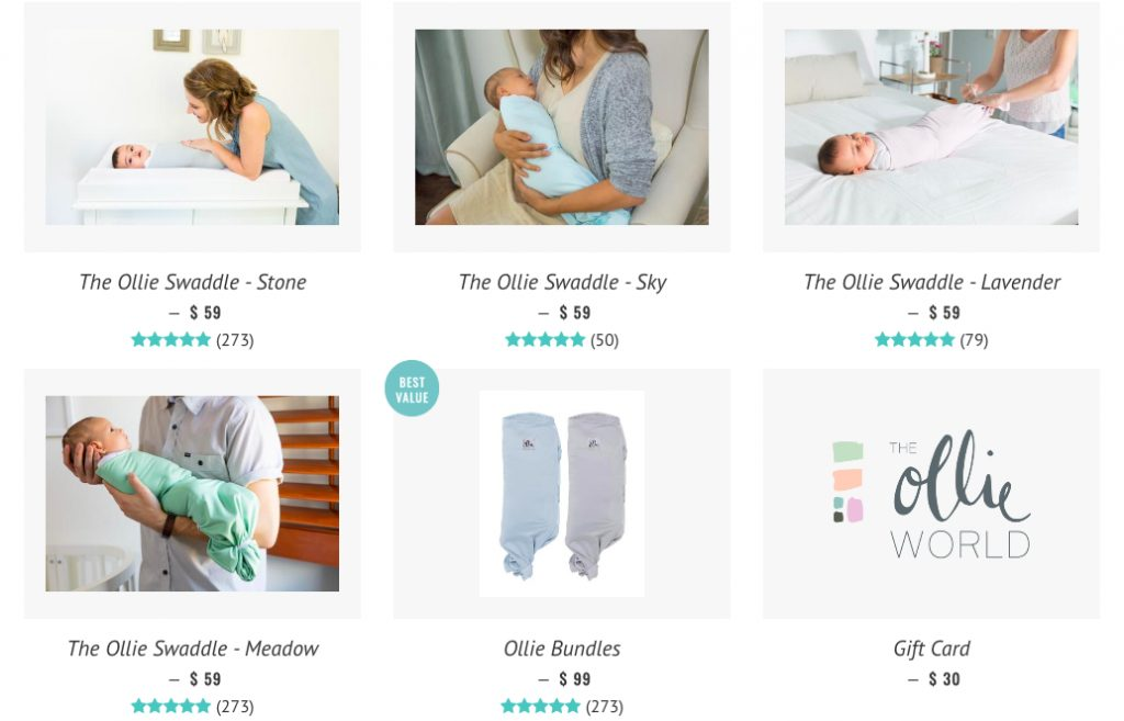 ollie swaddle info