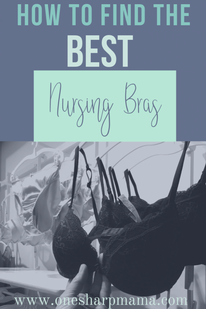 Check out these tips on finding the best nursing bras. Breastfeeding should be comfortable and easy. Find out the different styles and types of nursing bras. #breastfeeding #nursing #pregnancy