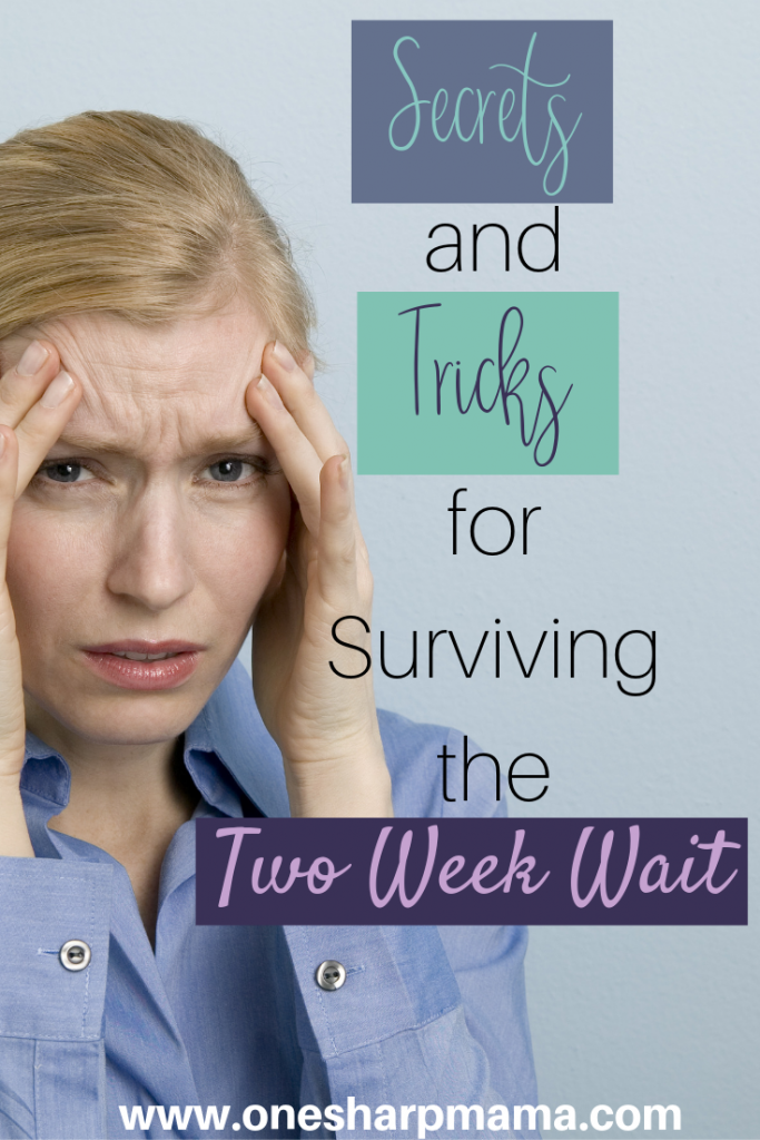 TTC can be such a difficult time. Trying to get pregnant involves so much to go right, it can feel very complicated. The tww can become the most dreaded to weeks of the month during your time, especially if you're dealing with infertility. Use these secrets and tricks to survive through those two weeks of waiting to see if you get your big fat positive test! #tryingtoconceive #fertility #ttc #infertility