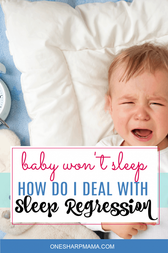 baby cranky due to sleep regresion
