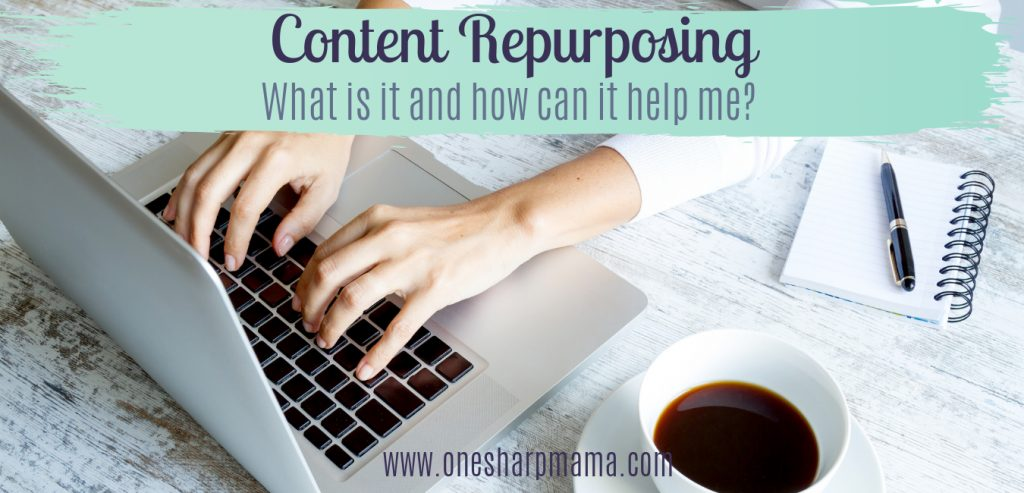 What is content repurposing and how does it help me as a business owner? How can I get more work done in less time? How can I recycle my old content into new content? All of these traffic building questions are answered in this post. #business #contentcreator #trafficbuilding #blogger #vlogger