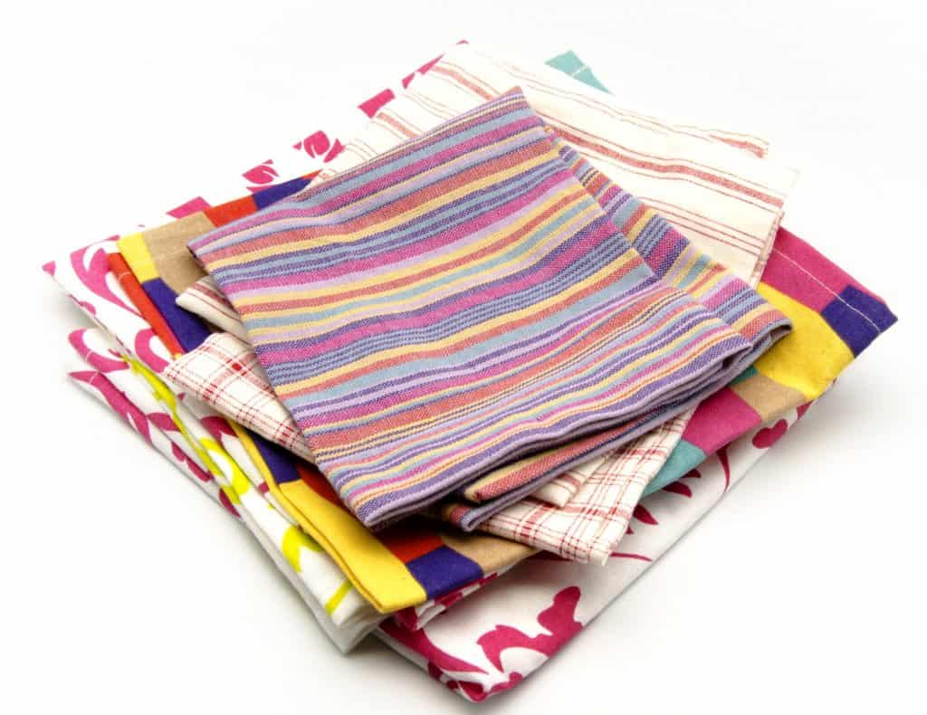 Cloth napkins you could use for cloth diaper wipes.