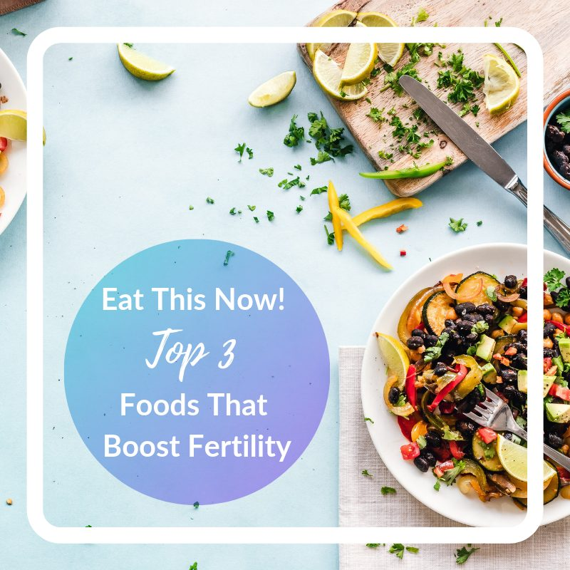 Foods that will help boost your fertility