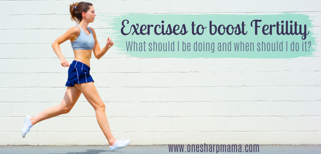 What exercises should I do to boost my fertility? Find out the best exercises you can do during different parts of your cycle to increase your chances of conceiving. Trying to conceive can be hard, but, learn these infertility tips and fertility tips to help you conceive faster. Find out how exercise can boost your fertility. #fertility #infertility