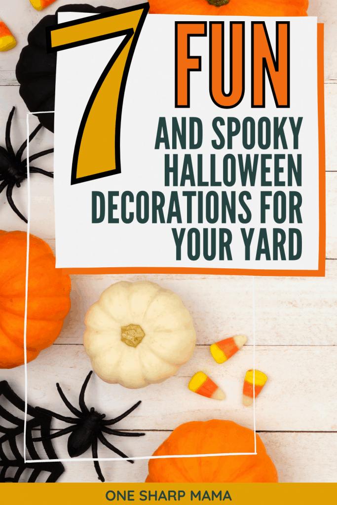 FUN halloween decorations.