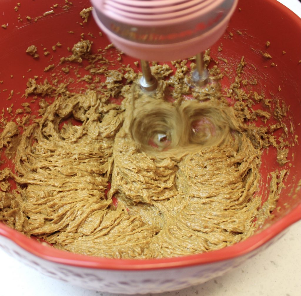 making cookie dough