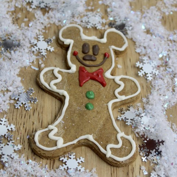 Mickey Gingerbread Cookie Treats