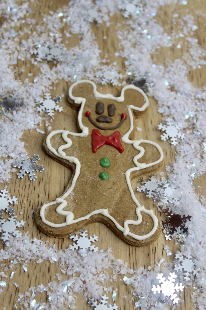 Enjoy these Mickey Gingerbread Cookies