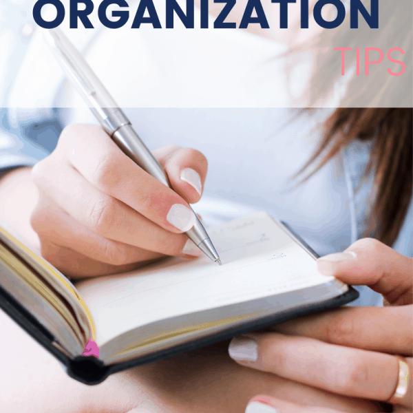 IVF Organization Tips