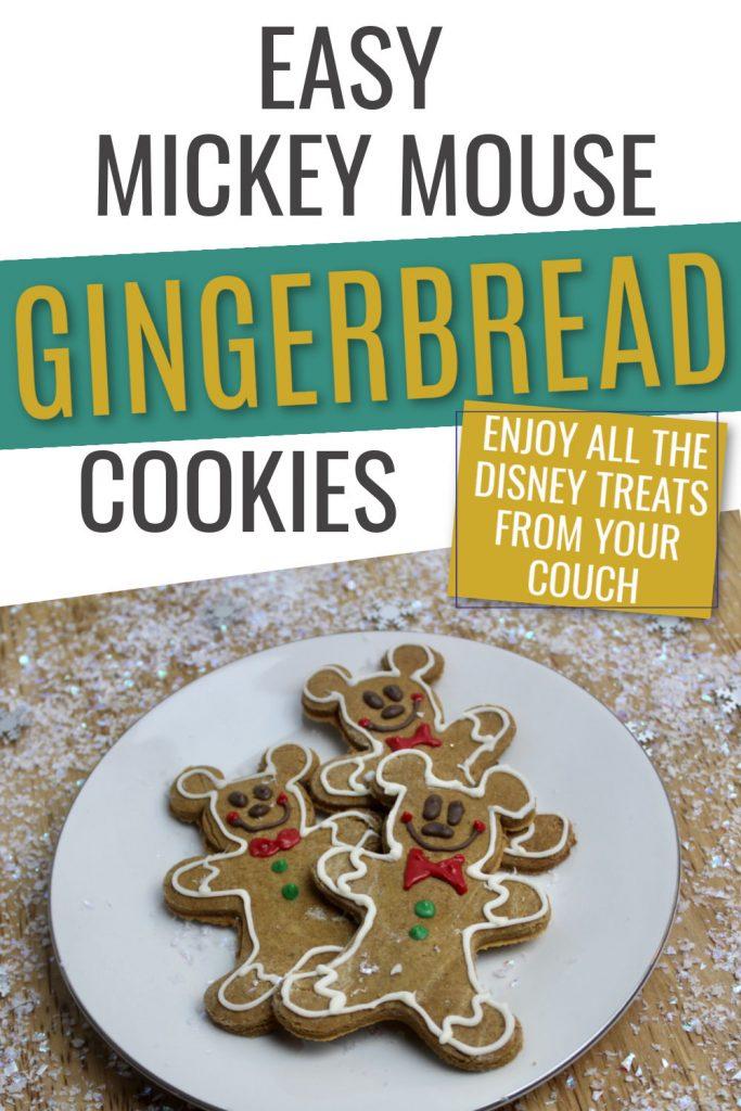 disney gingerbread copycat cookie