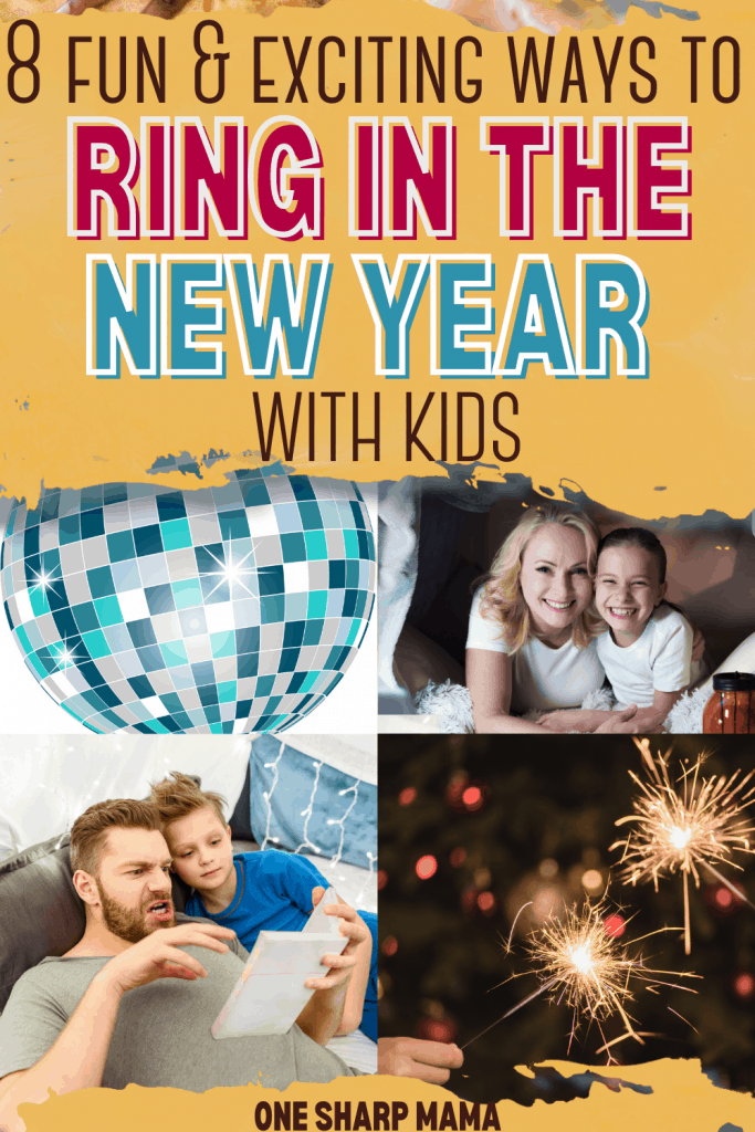 fun ways to stay entertained on New Years Eve with Kids.\\