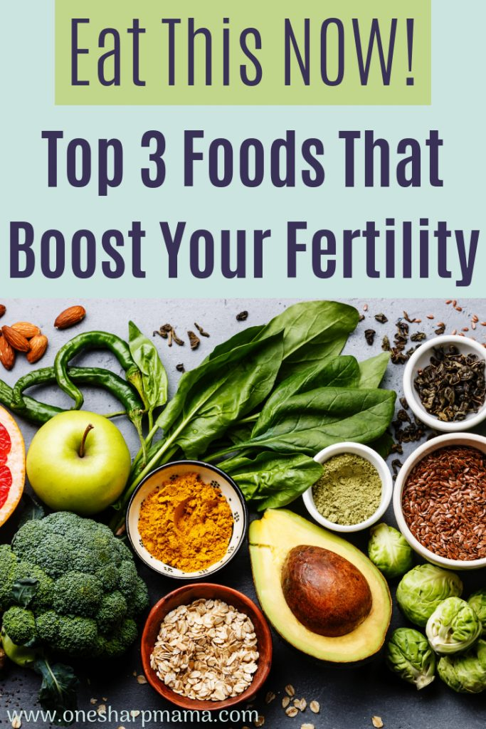 Check out these top 3 superfood suggestions to eat when you are trying to conceive. These three food ideas are great to help boost your fertility. If you're trying to conceive or trying to get pregnant, you will want to check out these fertility tips to help you achieve a healthy pregnancy. #ttc #infertility #fertility