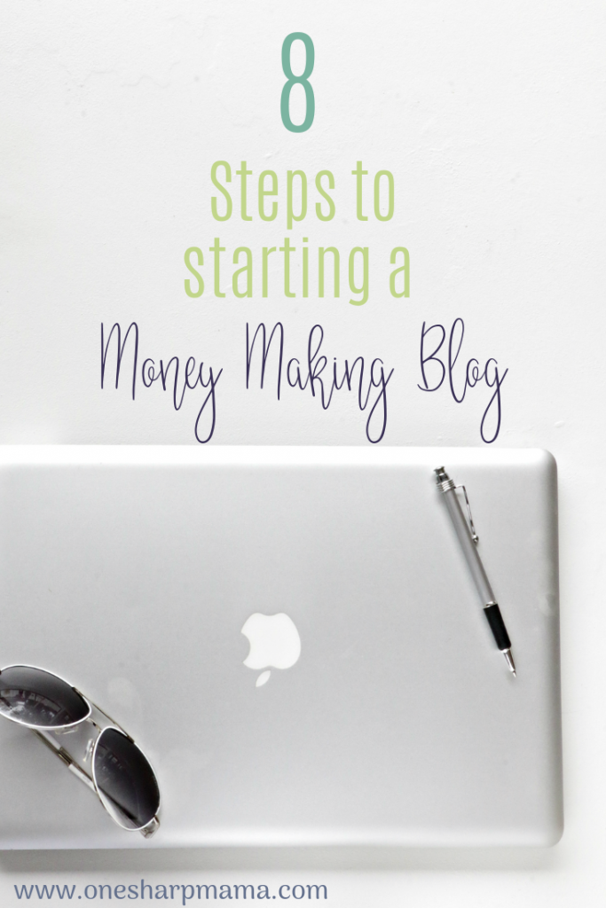 In this post you will find the 8 steps you need to take to start creating your money making blog. If you are looking for information about how to start a blog or a way to work from home, this post is for you. Start earning money and helping others through the information you provide on your blog. #startablog #blogincome #workfromhome #howtostartablog