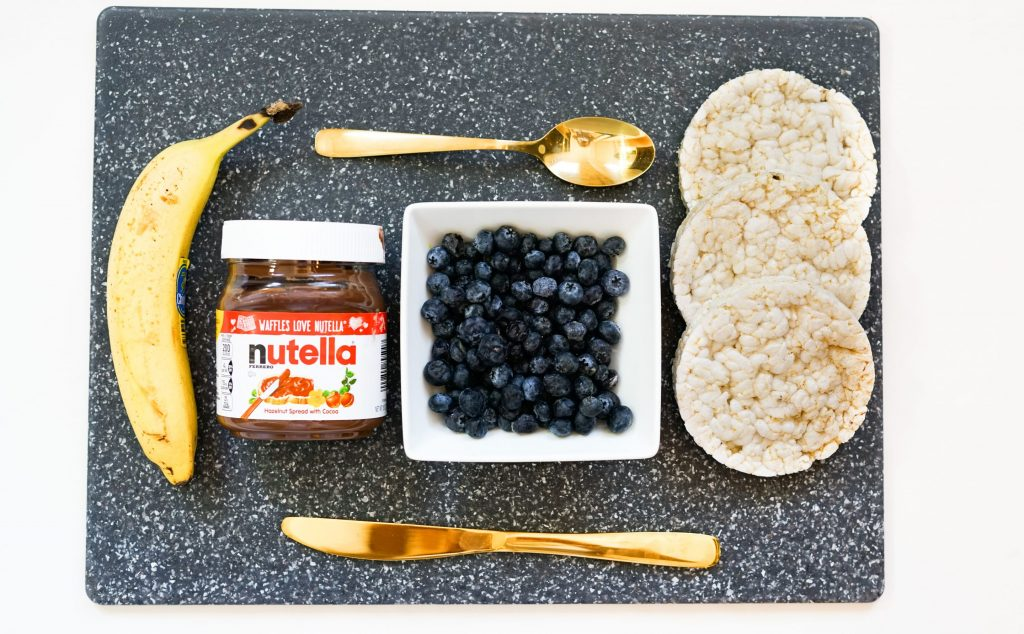 Monkey Nutella Rice Cake Ingredients