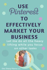 Use Pinterest to effectively market your business by hiring a Pinterest Manager. I'd love to help you reach your business goals and take some things off of your plate and to do list. #businessgoals #entrepreneur #delegate