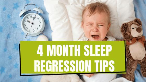 4 Month Sleep Regression Tips